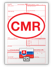 Internationaler Frachtbrief CMR (english & slovenčina)