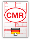 Internationaler Frachtbrief CMR (english & deutsch)
